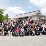 2015年4月22日太秦映画村へ日帰り旅行で集合写真